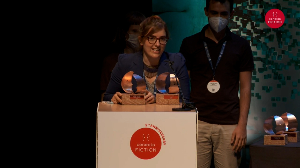 El proyecto GAIA, Premio Navarra TV en Conecta Fiction