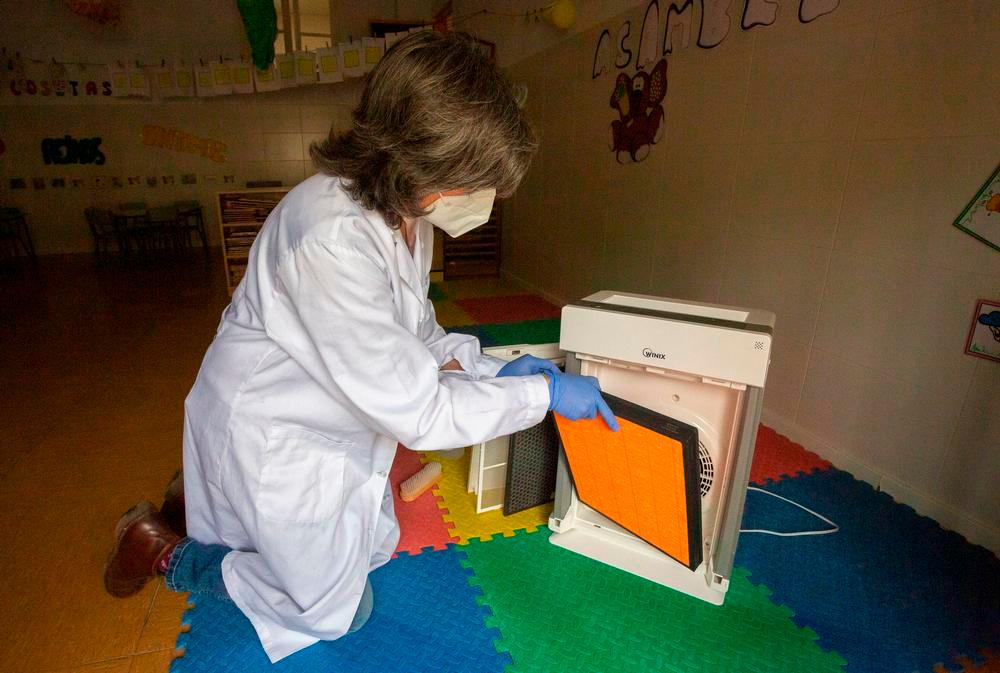Una PCR por semana al aula