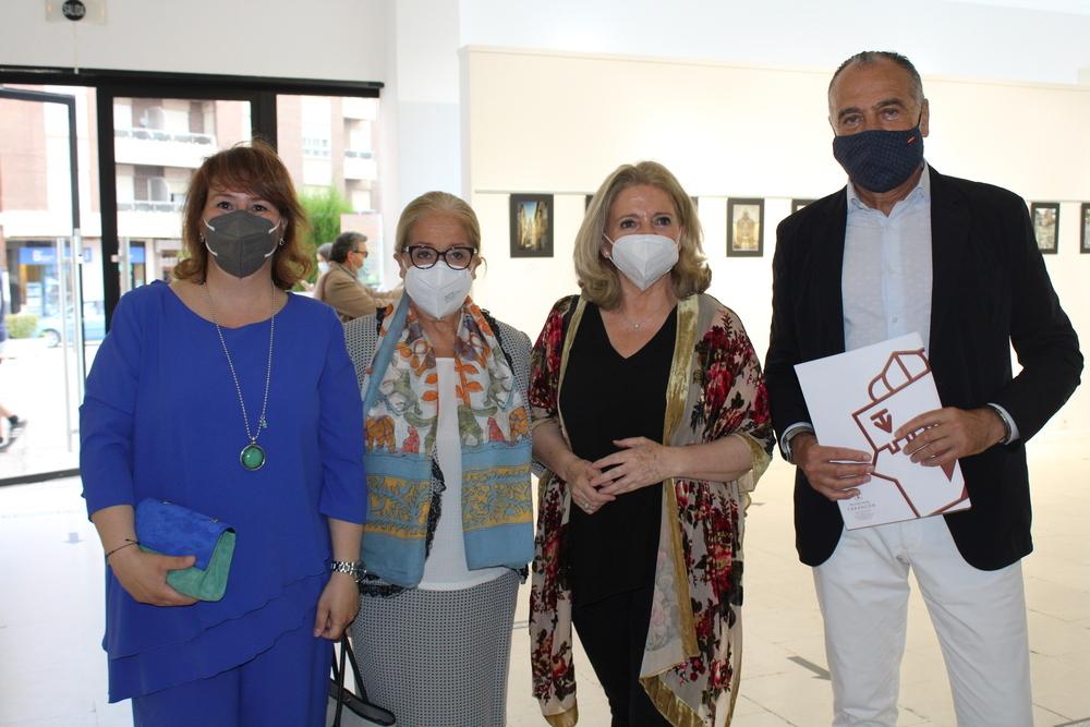 Mercedes Cuesta amadrina una graduación en Tarancón