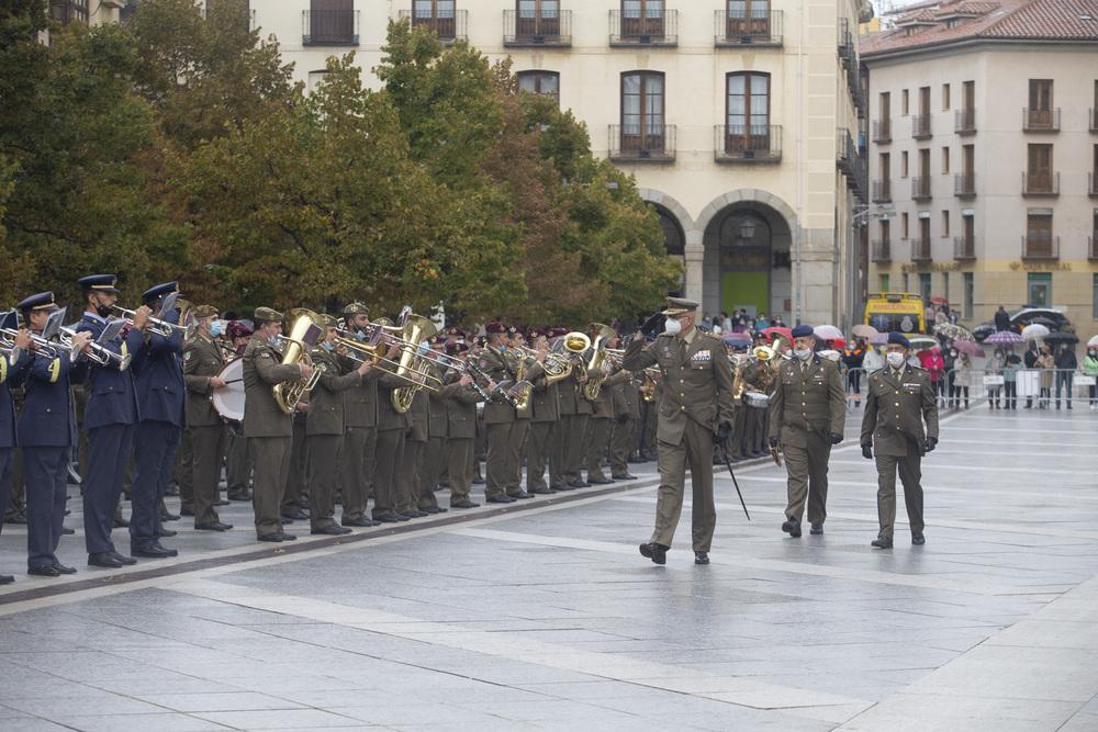 La música militar triunfa en Ávila