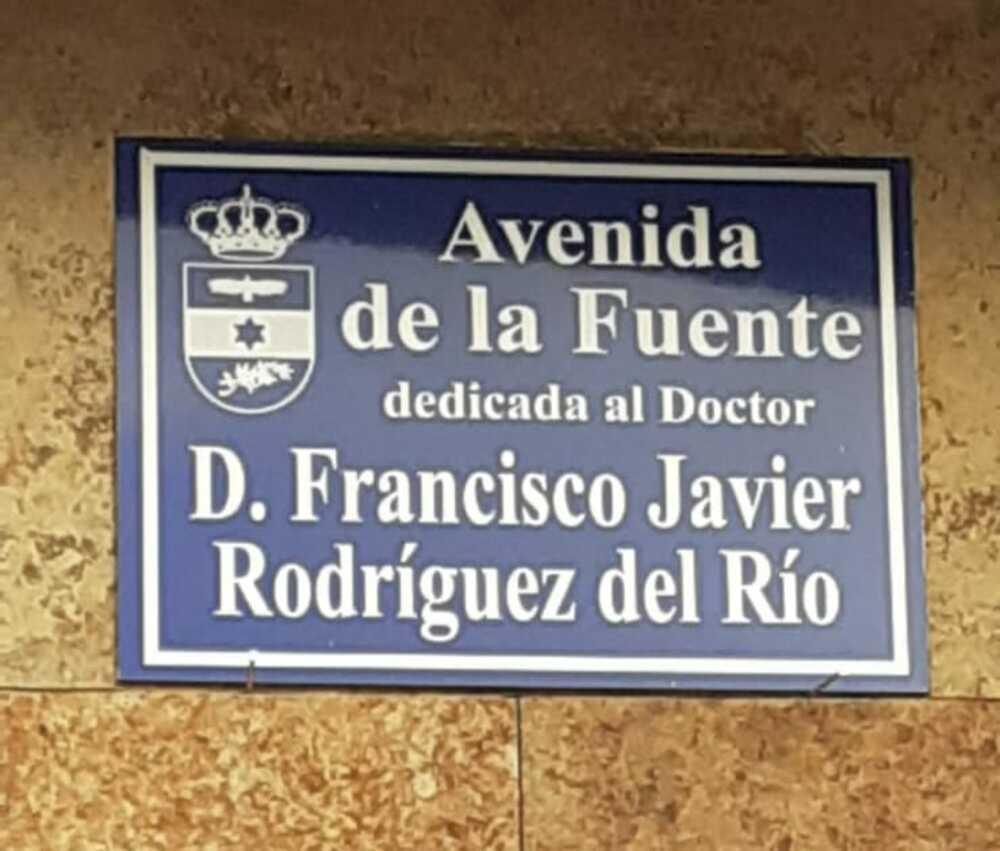 El médico de Horcajo de los Montes ya tiene su calle