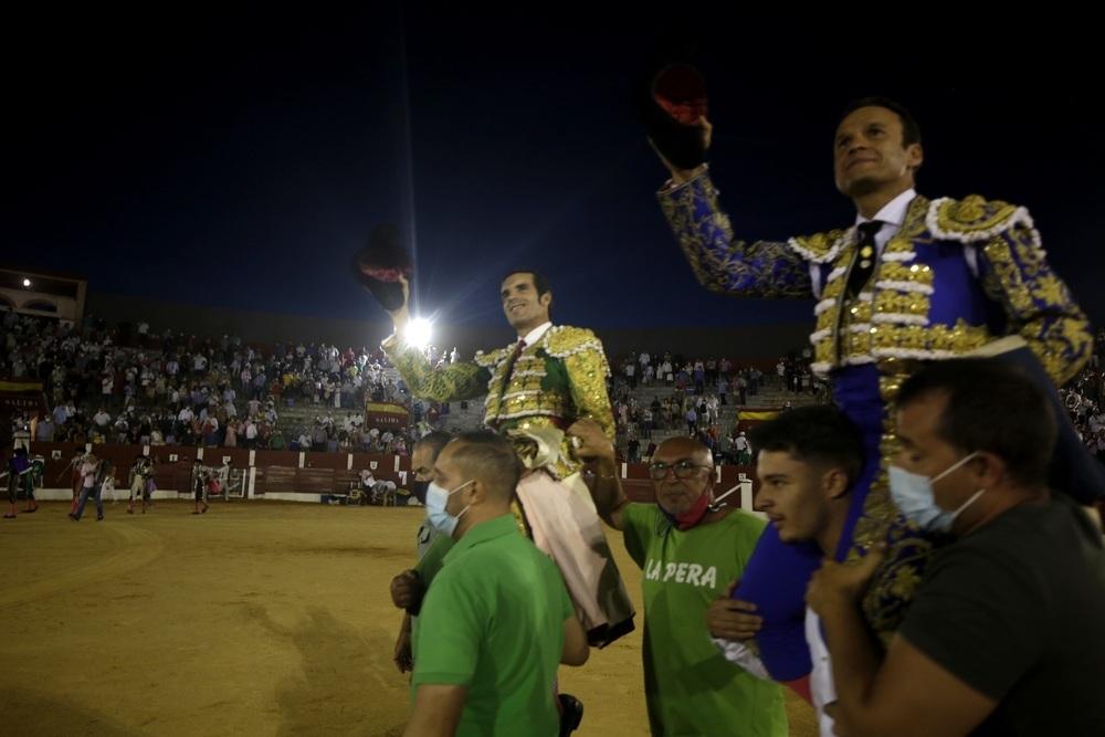 Triunfo De Justo en los toros de Alcázar de San Juan