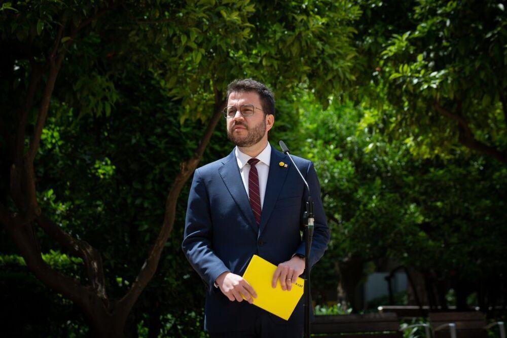 El Parlament votará la investidura de Aragonès el viernes