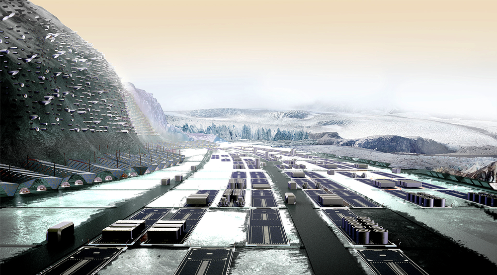 Imágenes del proyecto de la ciudad de Nüwa diseñada por el equipo liderado por Muñoz.