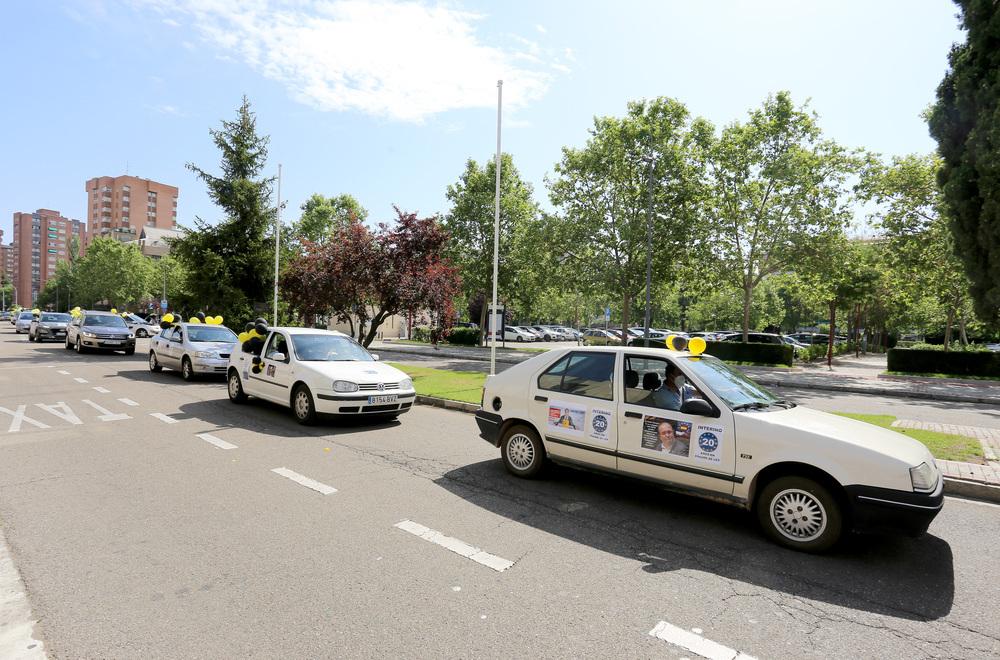 """Los trabajadores públicos """"en abuso de temporalidad"""" se movilizan de nuevo en Valladolid."""