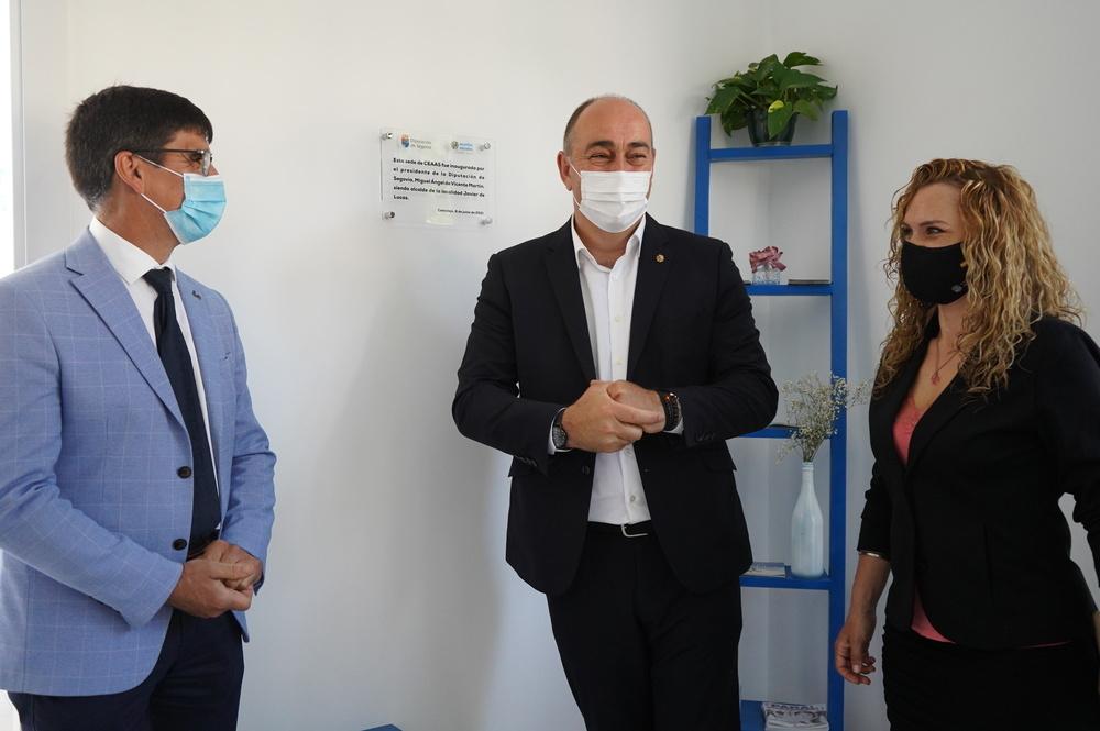 Estreno oficial de la nueva sede del CEAAS de Cantalejo