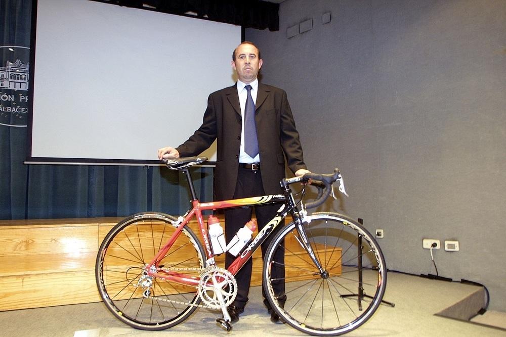 Falleció Diego Milán, gran impulsor del ciclismo almanseño