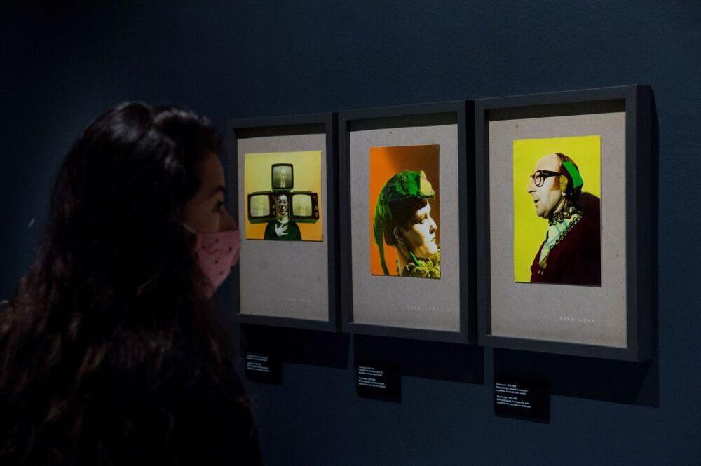 Vista de las obras que componen la exposición 'Supernova' que exhibe los primeros pasos de Ouka Leele.