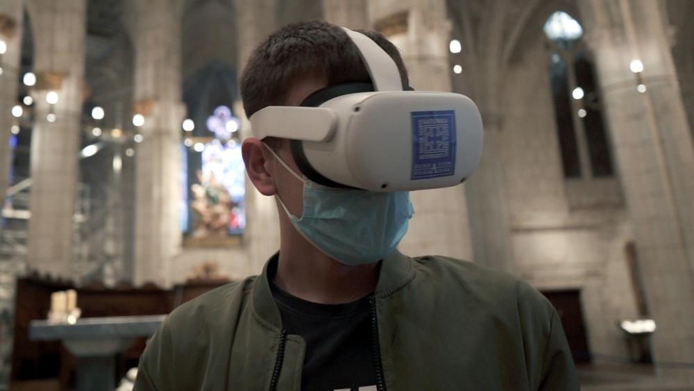 Viaje en el tiempo con la UBU a la catedral de Vitoria