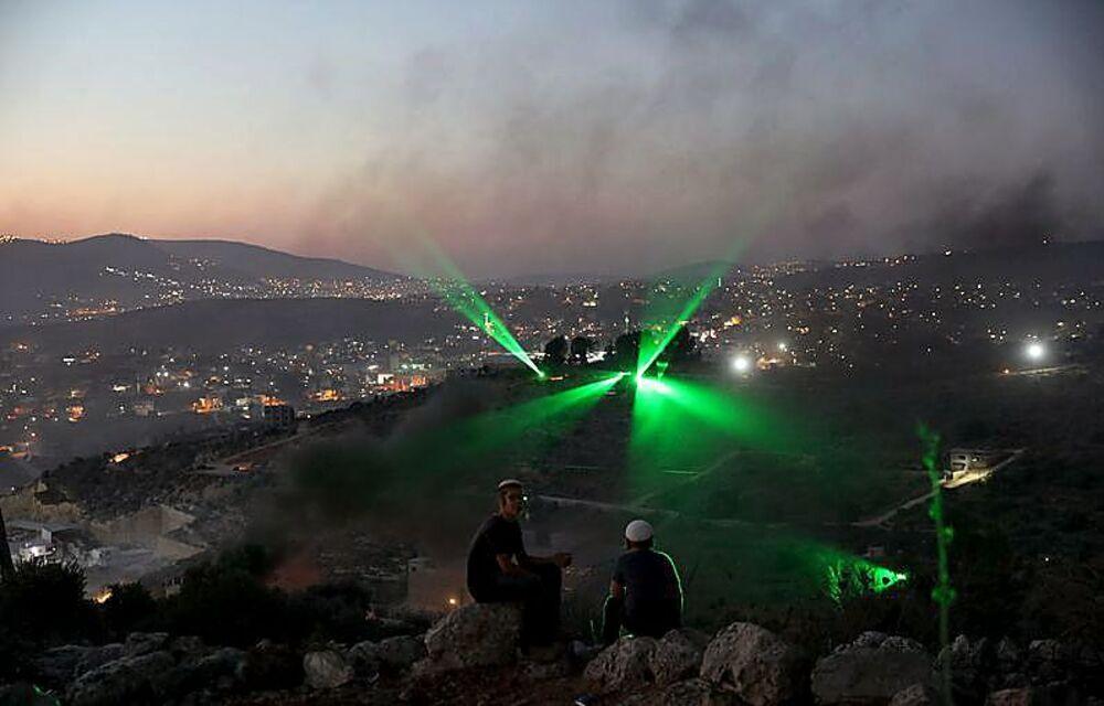 Las Fuerzas de Seguridad judías se han trasladado a la localidad, situada en la Cisjordania ocupada, para velar por la seguridad de sus ciudadanos.