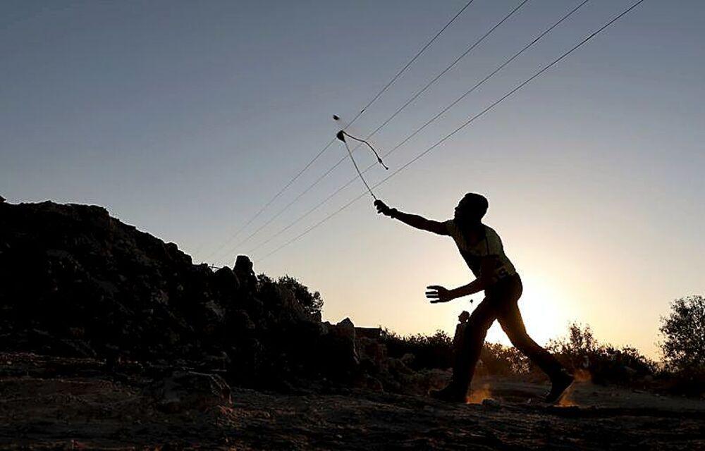 Los palestinos han llevado a cabo protestas y movilizaciones para exigir la salida de los hebreos.
