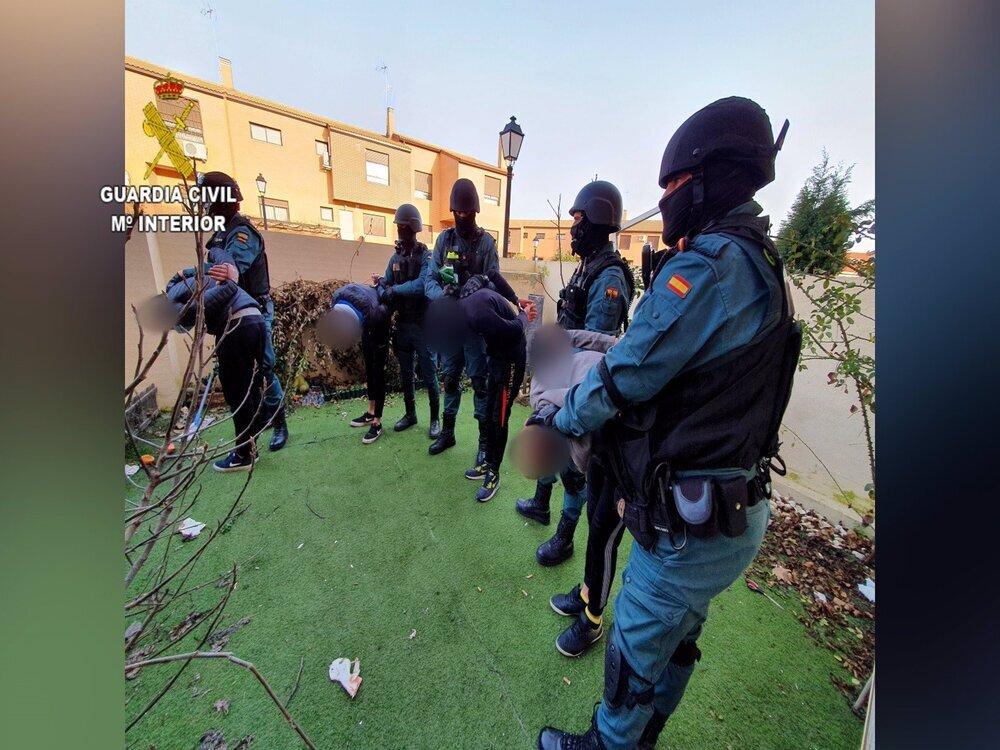 Desarticulado un grupo criminal tras robar en 27 municipios