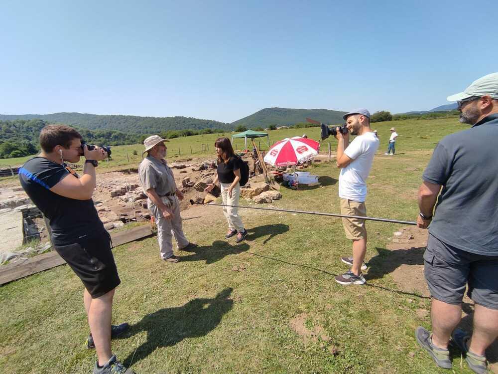 La peregrinación 'Ultreia:Camino a Santiago', en Navarra TV