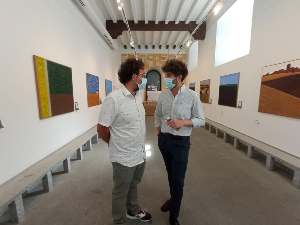 El paisaje castellano se adentra en la Casa de la Lectura