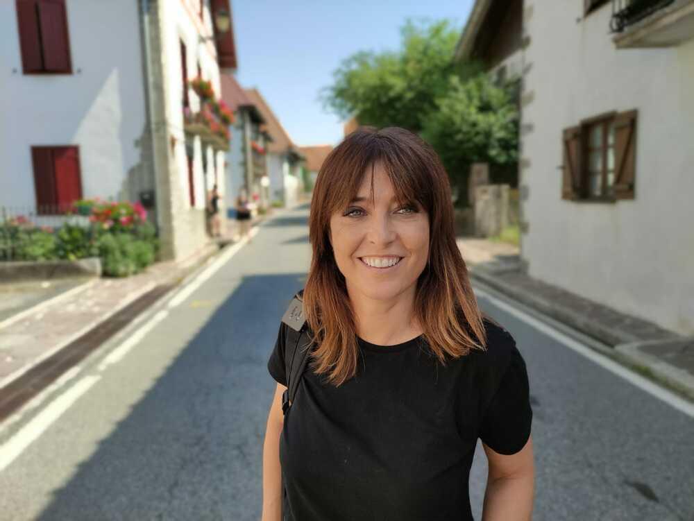 Helena Resano, protagonista en la etapa navarra