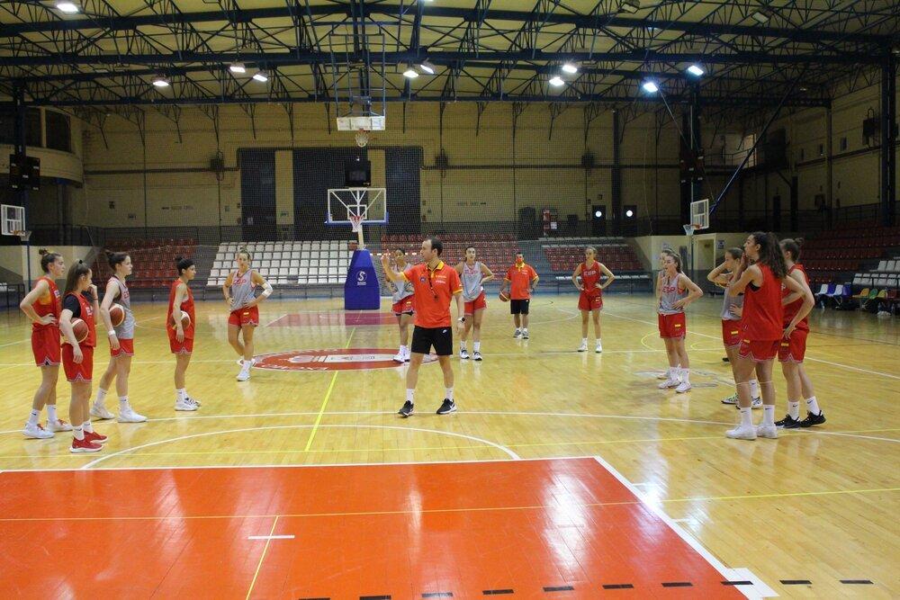 La selección española U18 se ejercita en Ciudad Real