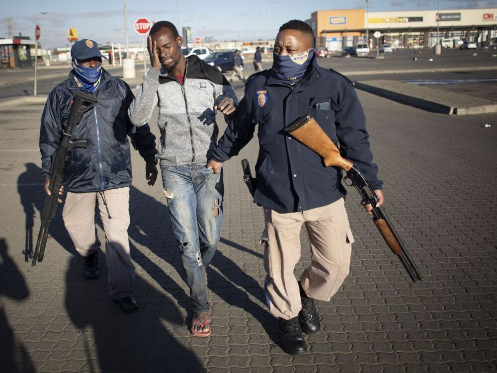 Violence and looting in South Africa after sentencing of former president Zuma
