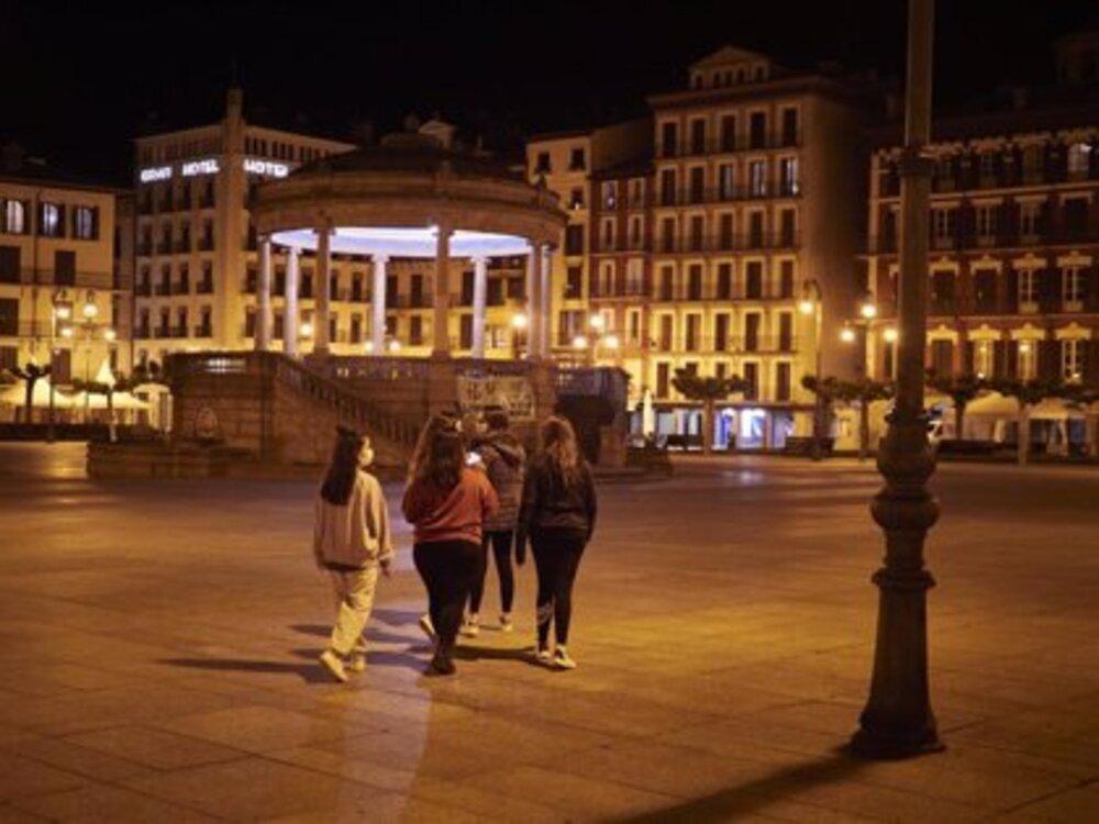 Toque de queda a partir de esta medianoche en Navarra