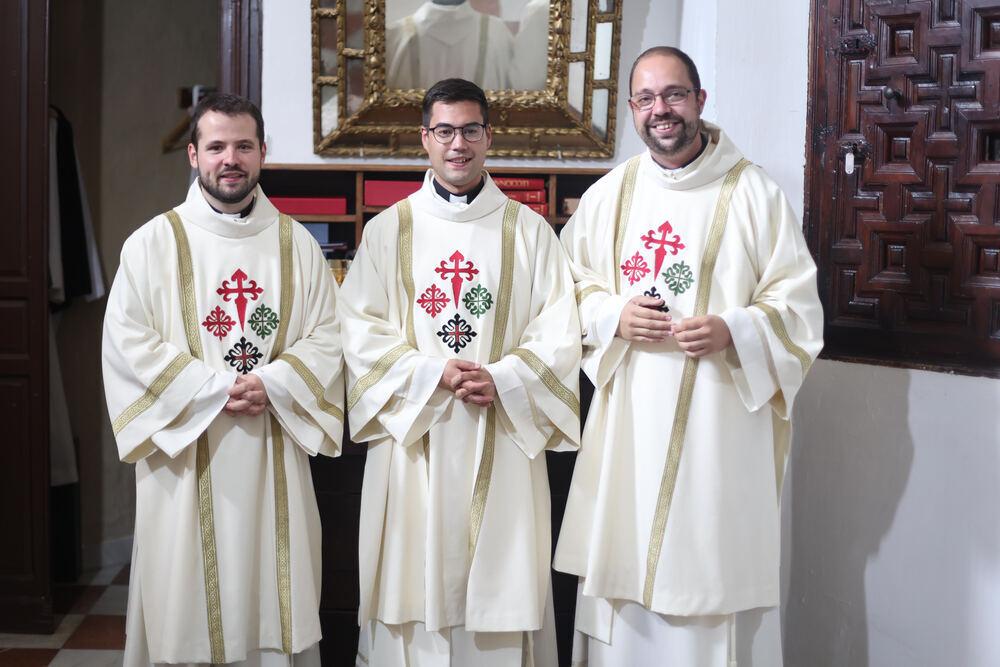Francisco, Pablo y Abel, tres nuevos diáconos en Ciudad Real