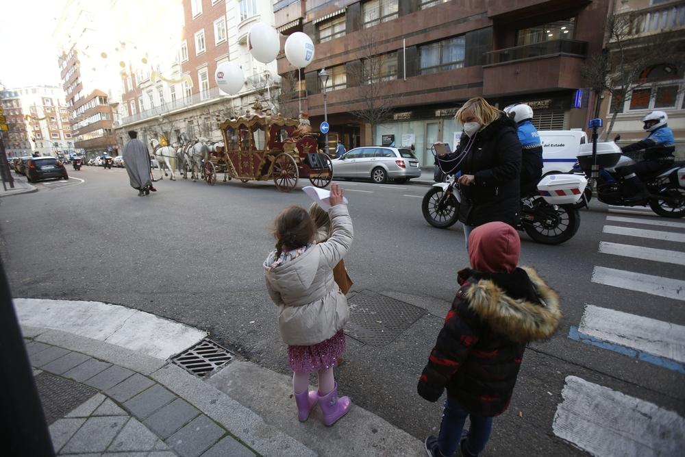 Los Reyes Magos en Valladolid