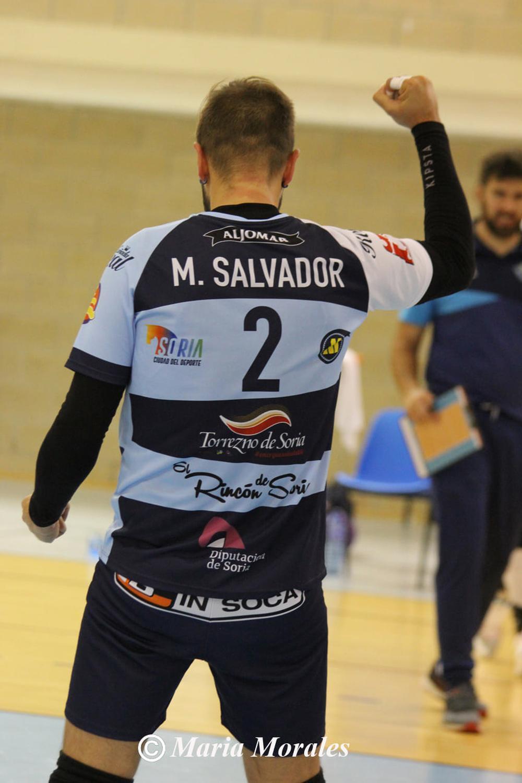 La emoción de Manu Salvador tras llegar a los 2.000 puntos