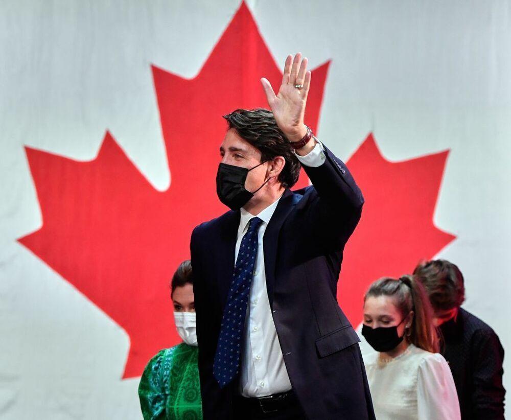 Trudeau gana las elecciones con el 93% de los votos escrutados