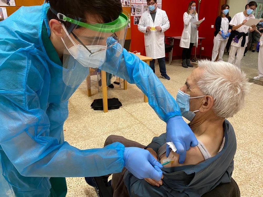 CyL no retrasará la vacunación de grandes dependientes | Todas las noticias de Palencia