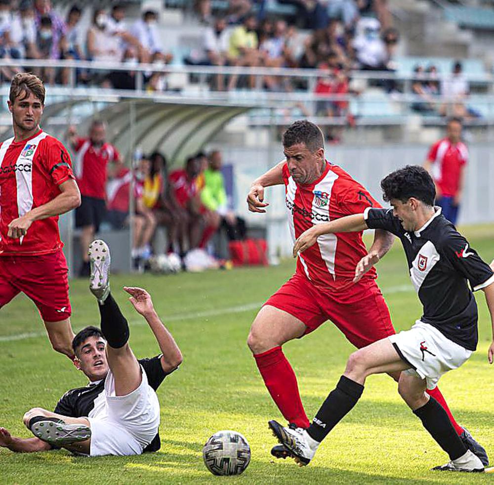 El marcador del duelo de ida condicionó al Castilla