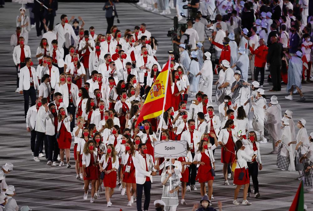 Una España de alegría, corazones... y móviles