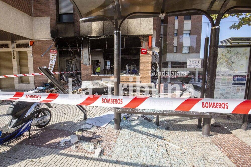 Explosión Kebab calle Segovia