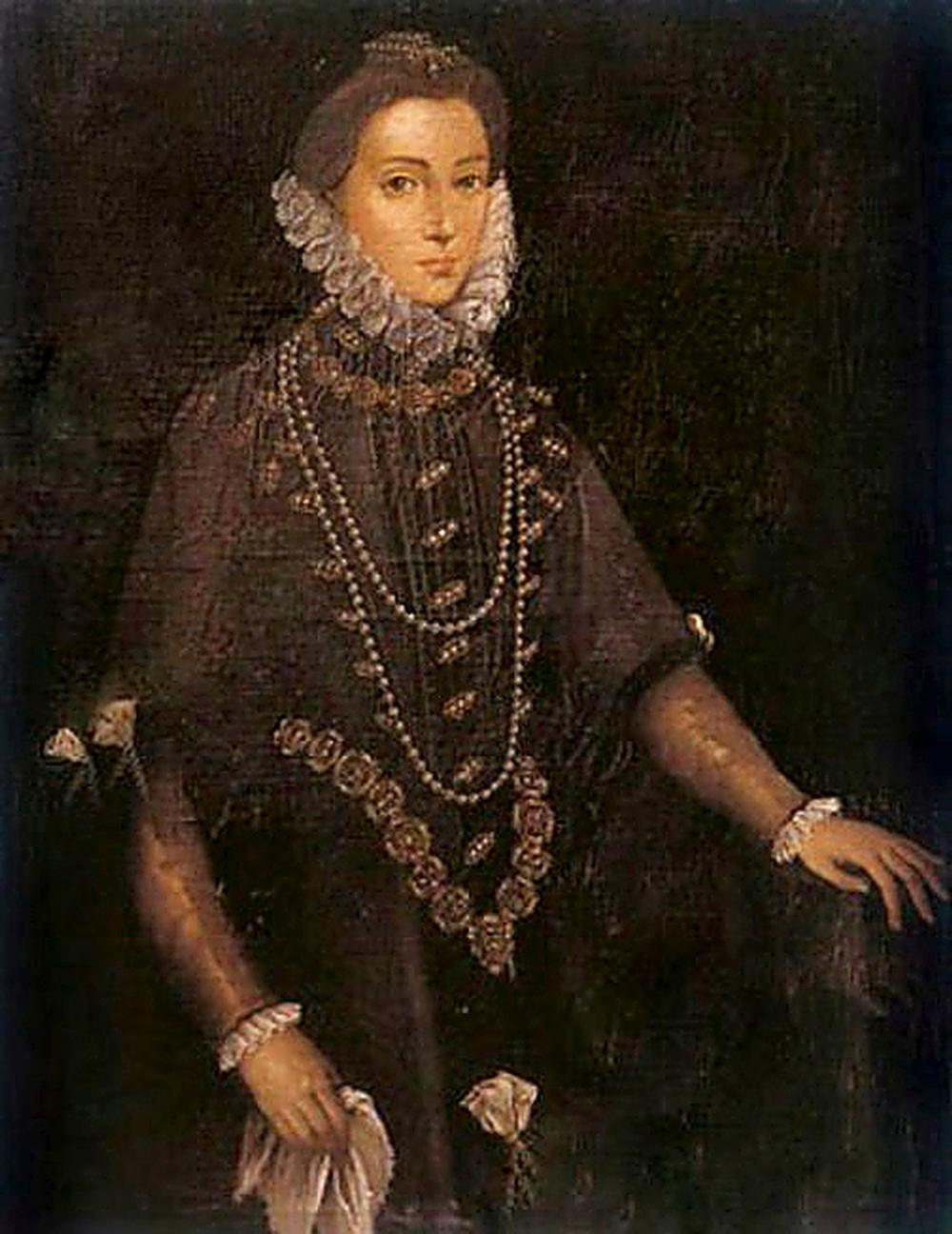 Retrato de la aristócrata.