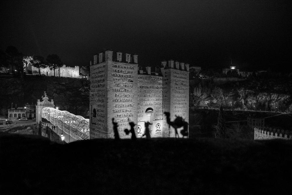 'Toledo, estrella y guía'. Fotografía de Ana Belén Malxipica. Sexto Premio.