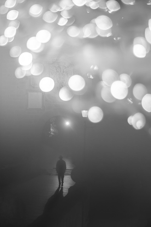 'Hacia la luz'. Fotografía de Pablo López Ortiz. Noveno premio