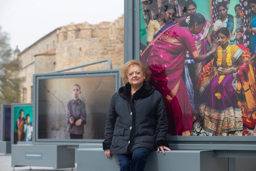 Inauguración de la exposicion ´Tierra de Sueños´de Cristina GarcÁa Rodero.