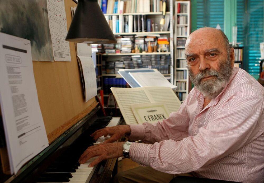 El compositor bilbaíno Luis de Pablo en una foto de archivo.