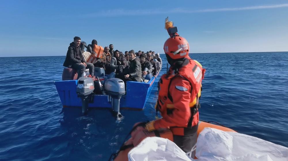 El Aita Mari rescata a más de 100 personas en el mar
