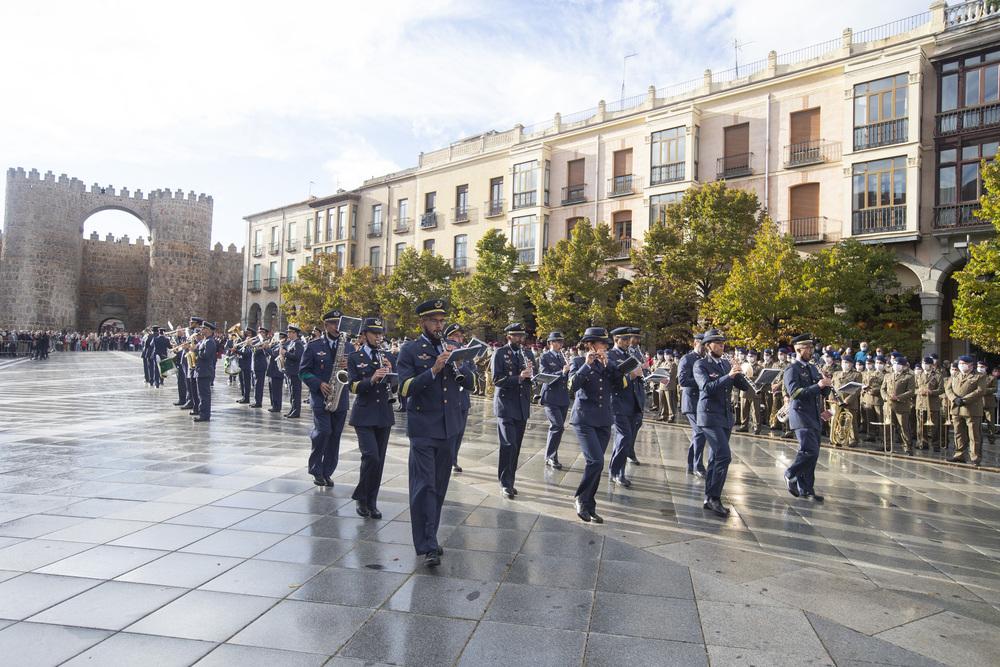 Retreta Militar en la Plaza de Santa Teresa. Múscia Milita.