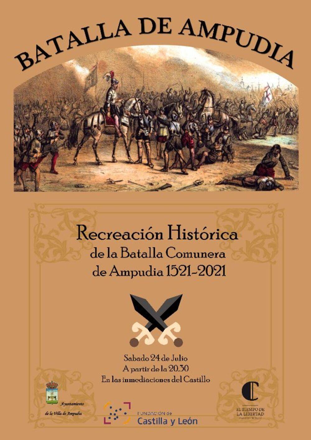Ampudia recrea mañana la batalla comunera de 1521