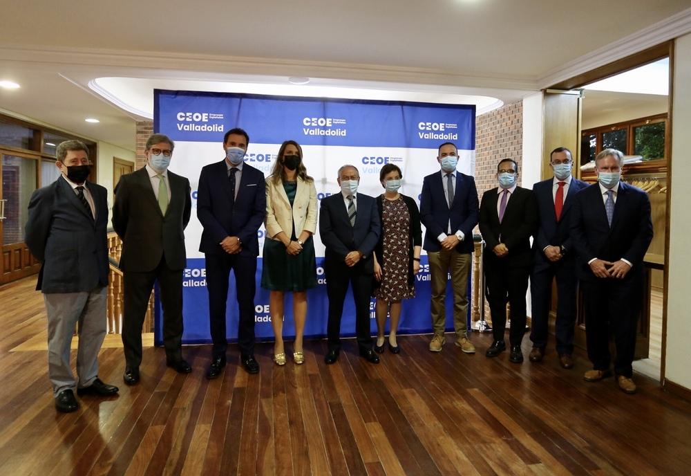 Entrega de los premios CEOE Valladolid