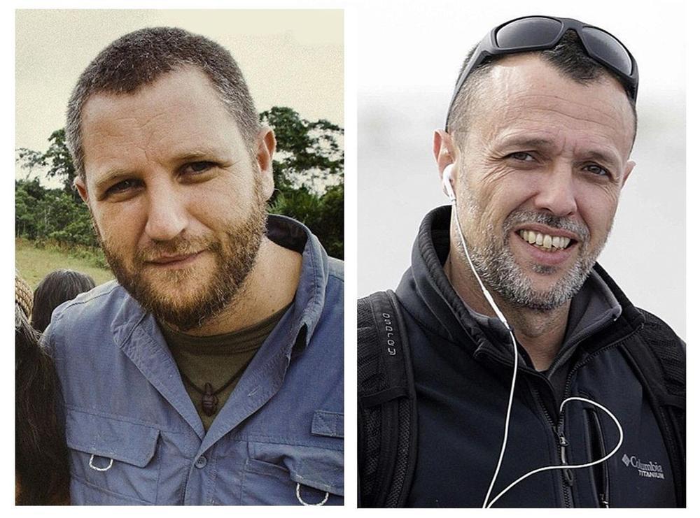 Llegan a Madrid los cuerpos de los periodistas asesinados