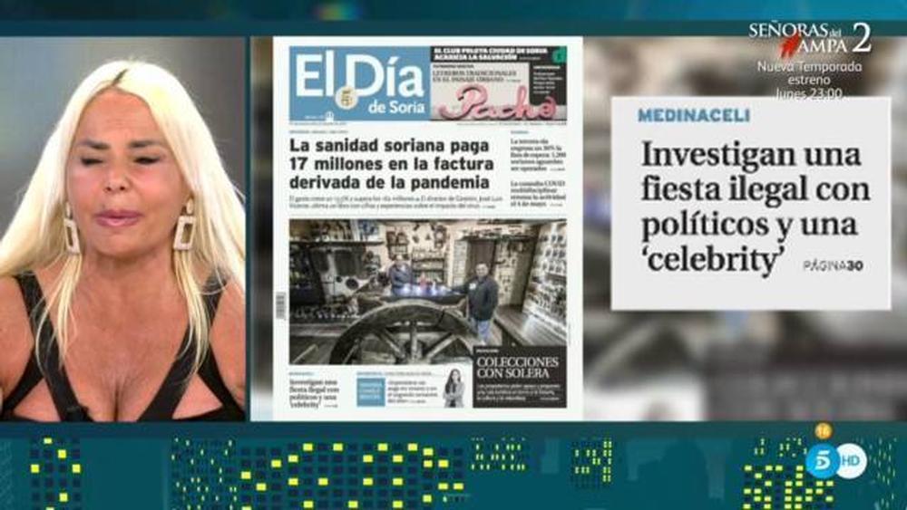 Leticia Sabater se defiende del 'Caso Medinaceli' en Sálvame