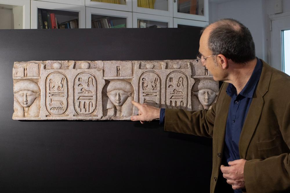 Un nuevo tesoro emerge en Egipto