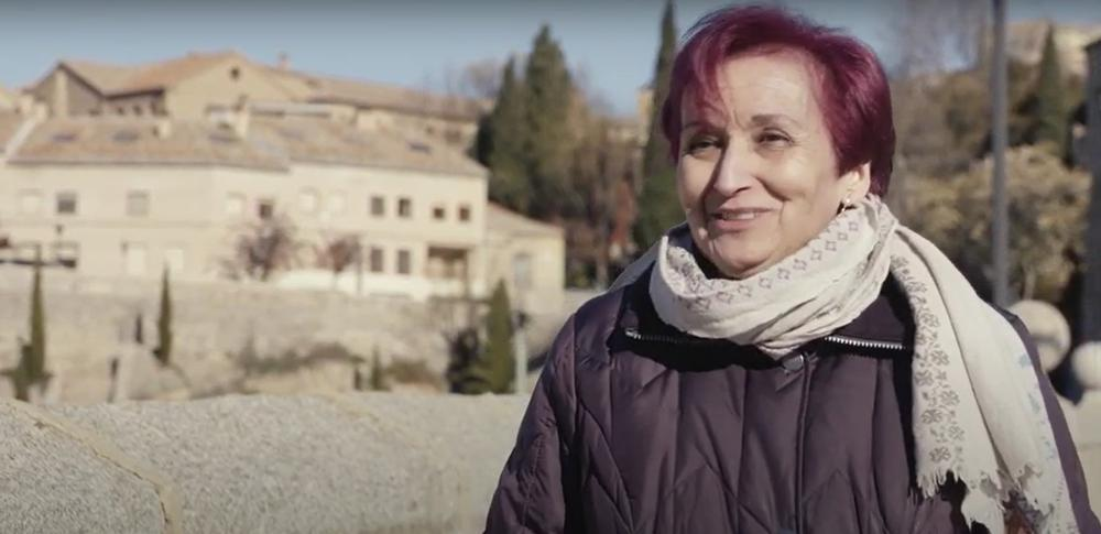 María Pilar Alonso cuenta que había un quiosco para comprar las bebidas y que se llevaban la merienda.