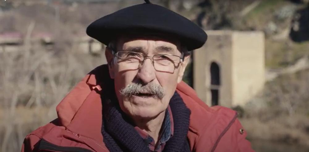 Alejandro Gómez recuerda los paseos de enamorados junto a las orillas del río.