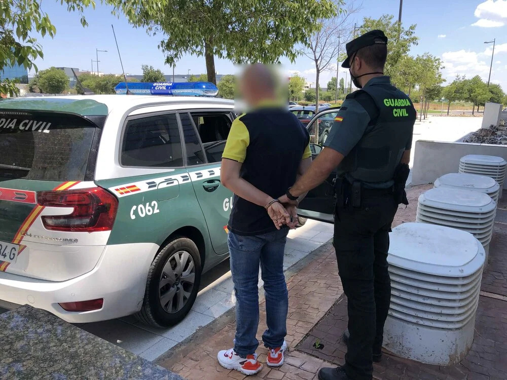 Uno de los detenidos en la operación 'Abanterum'.