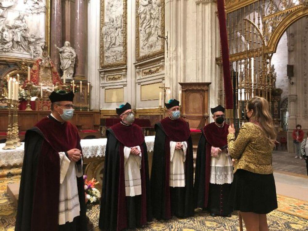 El Pendón de Alfonso VIII vuelve a la Catedral