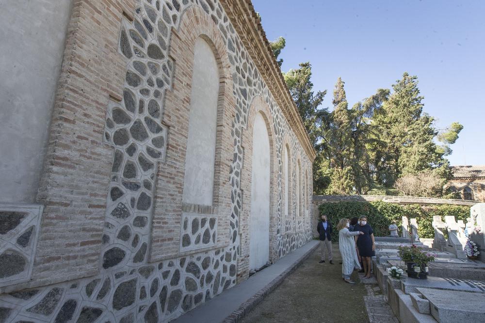 El almacén del cementerio, restaurado por 150.000 euros