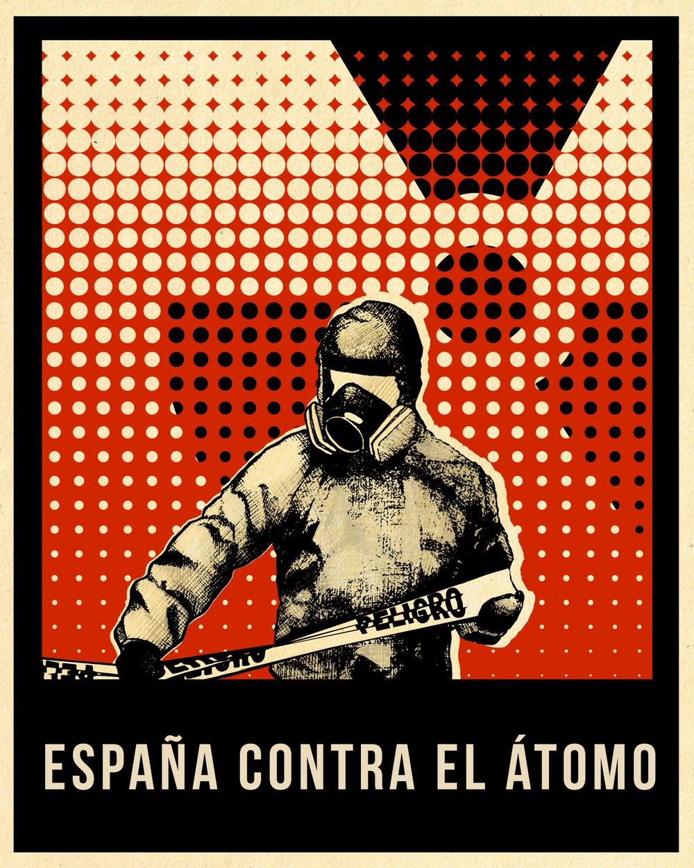 El cartel del documental es obra de la ilustradora Alicia Ruiz de Castañeda.