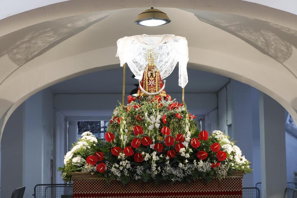 La patrona será trasladada del Recinto Ferial al Consistorio