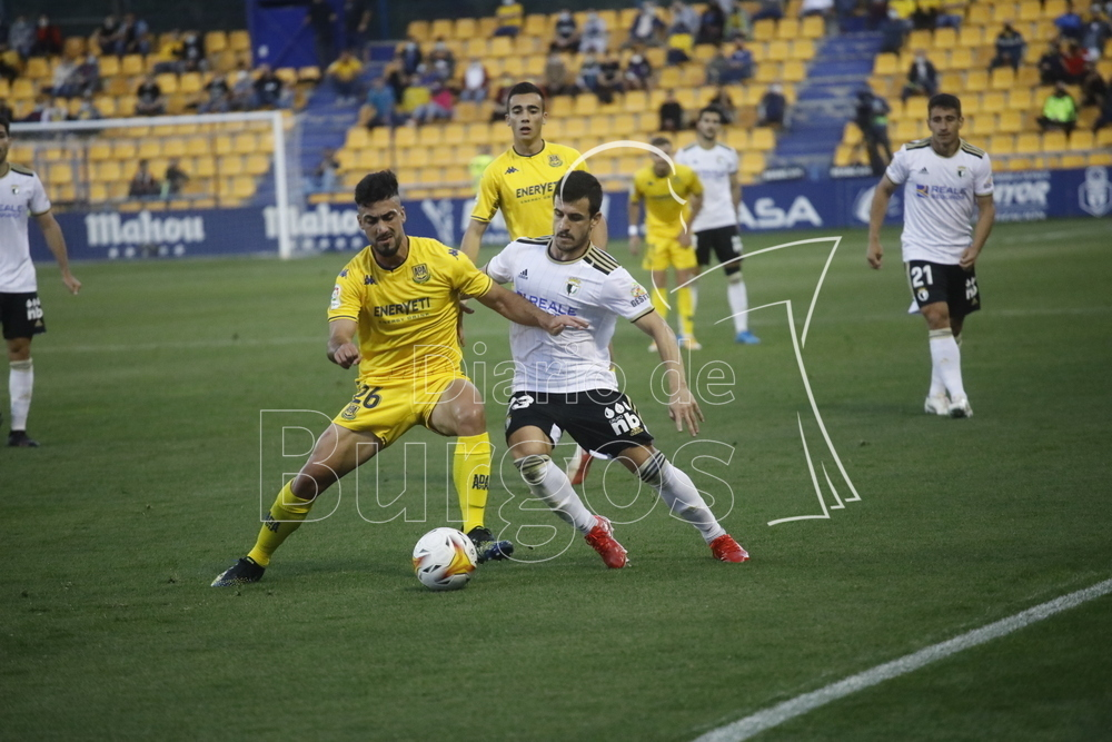 La derrota del Burgos CF en Alcorcón, en imágenes.
